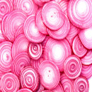 Slices of onion