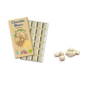 Chocolate Blanco ecológico, 100 gr. Chocolates Solé