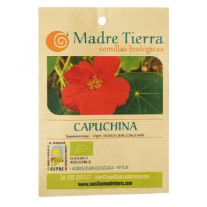 Capuchina semillas ecológicas