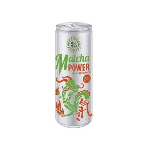 Bebida energetica MATCHA power ecológica, 250 ml. Sol Natural