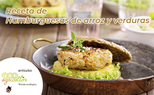 hamburguesas arroz